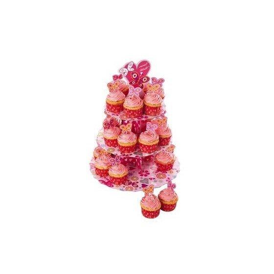 Soporte para Cupcakes Mariposas