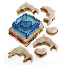 Cortador Sandwich Delfines