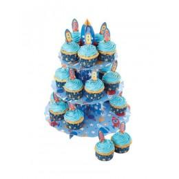 soporte para cupcakes cohetes