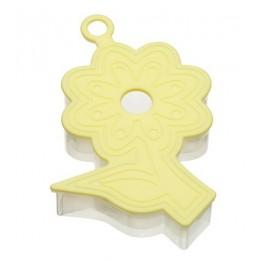 Cortador de Galletas 3D Flor