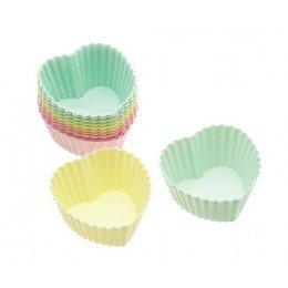 Moldes para Cupcakes Corazones