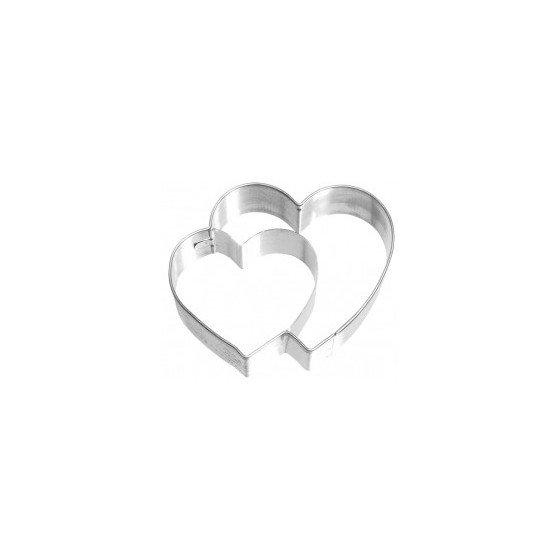 cortador galletas corazones