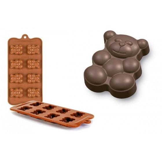 Molde Bombón Oso Teddy