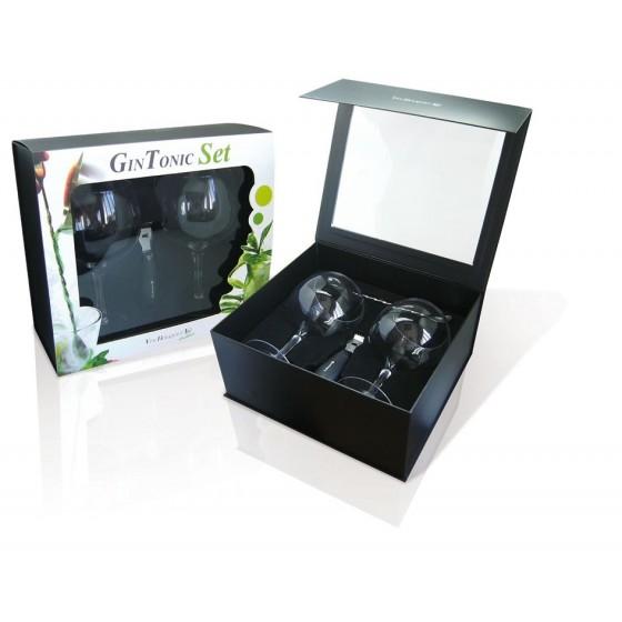 Gin Tonic Set Copas y Accesorios