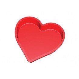 Molde silicona corazon gde Lekue