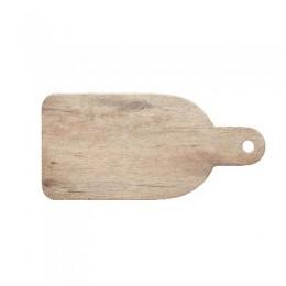 Tabla de servir de 24x17cm, melamina efecto madera