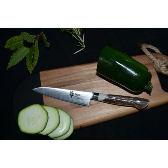 Cuchillo cocinero acero damasco y vg10 15cm - Cuchillo de cocina acero damasco ...