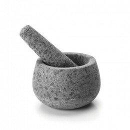 Mortero de cocina de granito estilo rústico