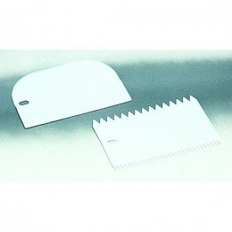 Rasqueta y cortador para masas de cocina