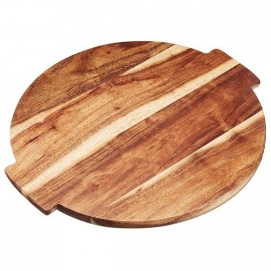 Tabla de madera para servir giratoria