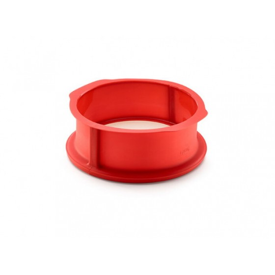 Molde Desmontable 23 cm + base cerámica Lekue