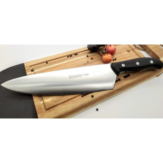 Cuchillo cebollero Domus de 3claveles 25cm