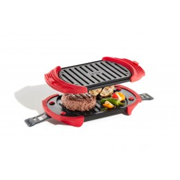 Microwave Grill Rojo