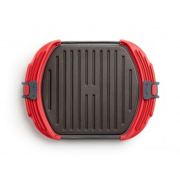 Microwave Grill 3-4 rojo
