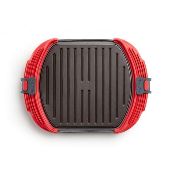 Microwave Grill 3-4 rojo