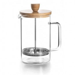Cafetera émbolo Madera 800ml
