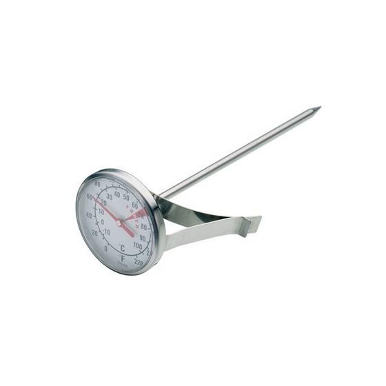 termómetro con pinza