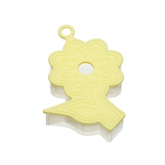 cortador galletas flor